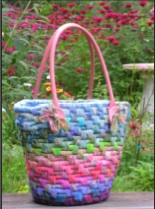 Hand Woven Casco Bay Bag - Pattern only