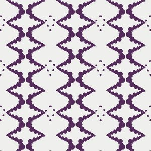 Elizabeth - ZigZag - White/Purple