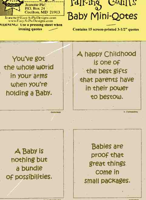 Baby Quotes - Small