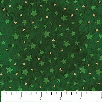 Starry Night - Sm Stars - Green