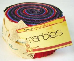 Moda Marble Jelly Roll - Brights