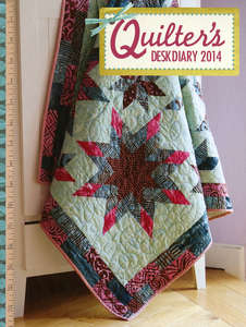 Quilter's Desk Diary 2014
