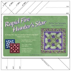 Rapid Fire Hunter's Star - Petite Template