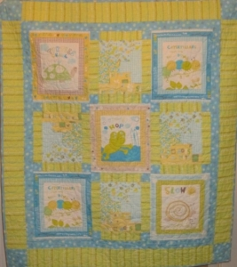 Kit - Scribbles Girl Quilt