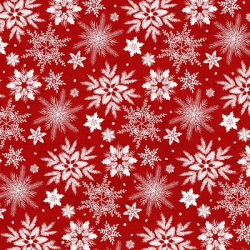 Holiday Homecoming - Snowflake - Red