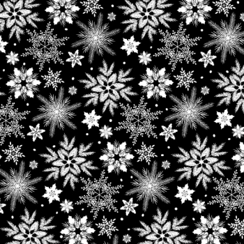 Holiday Homecoming - Snowflake - Black