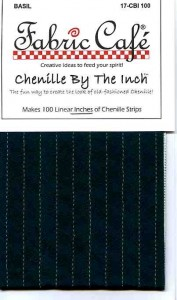 Chenille by the Inch - Basil