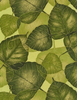 Autumn Palette - Packed Leaves - Olive