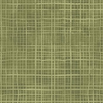 Amour - Plaid Texture - Green