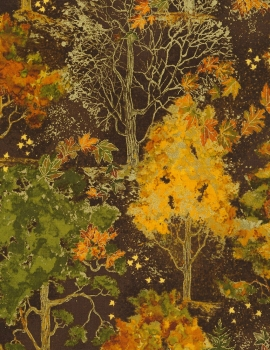 Autumn Palette - Fall Trees - Brown