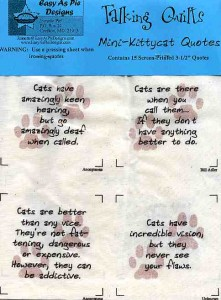 Kitty-Cat Quotes