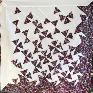 Kit - Tumbling Triangles - 2: Small Wallhanging