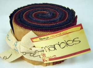 Moda Marble Jelly Roll - Warm